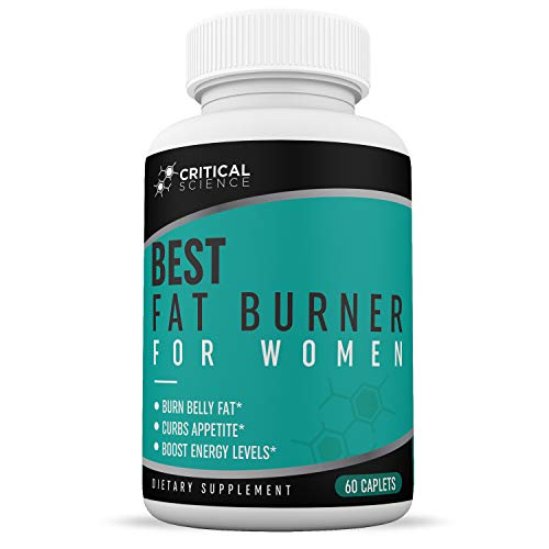 Best Fat Burner for Women - Promotes Healthy Weight Loss - Loss Unwanted Pounds - Burn Fat Fast - Natural Ingredients to Boost Metabolism - One-Month Supply ()