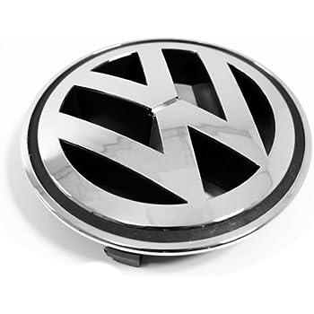 vw volkswagen front grille emblem chrome genuine oem passat jetta tiguan gti automotive. Black Bedroom Furniture Sets. Home Design Ideas