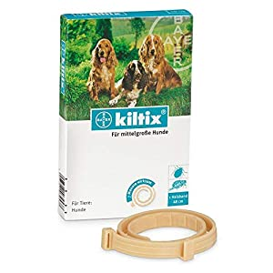 Bayer Kiltix Collar for Fleas and Ticks (Medium)