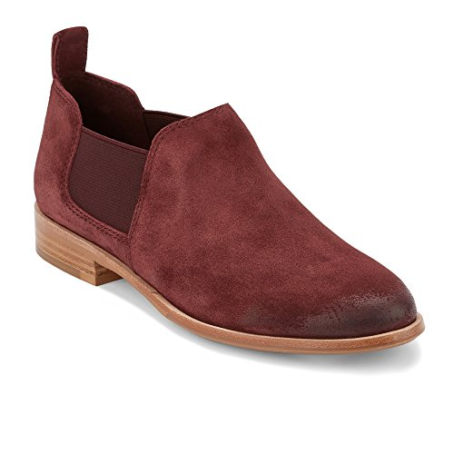 G.H. Bass & Co. Women's Brooke Wine Suede 8.5 M US by G.H. Bass & Co.