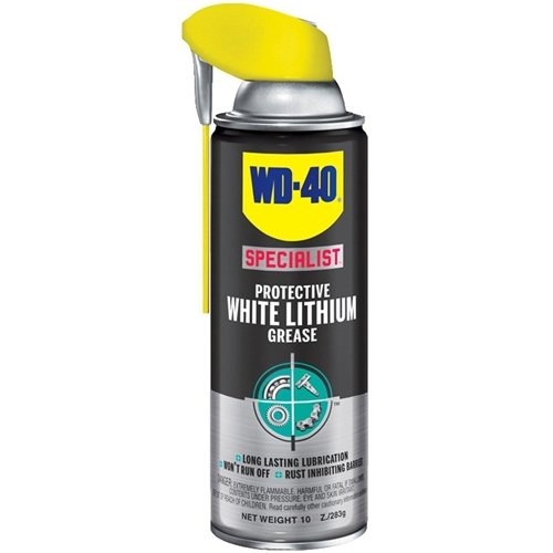 - WD-40 300028 Specialist Protective White Lithium Grease Spray, 10 oz. (Pack of 6)