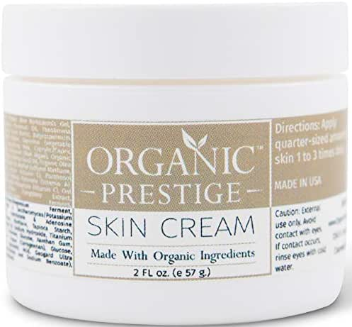 Luxury Anti Aging Face Cream With Coconut Oil and Aloe Vera - Skin Lightening Cream and Dark Spot Corrector for Face - Anti Wrinkle Cream and Face Moisturizer for Dry Skin - Natural & Organic (2 oz)
