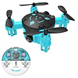 Mini Drone for Kids or Adults, Pocket RC Quadcopter with Hea...