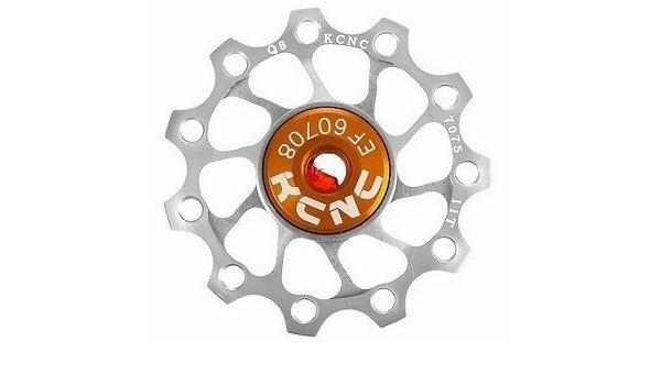 MTB Road Classic Bike Rear Derailleur Jockey Wheel Pulley 10T 6mm Silver