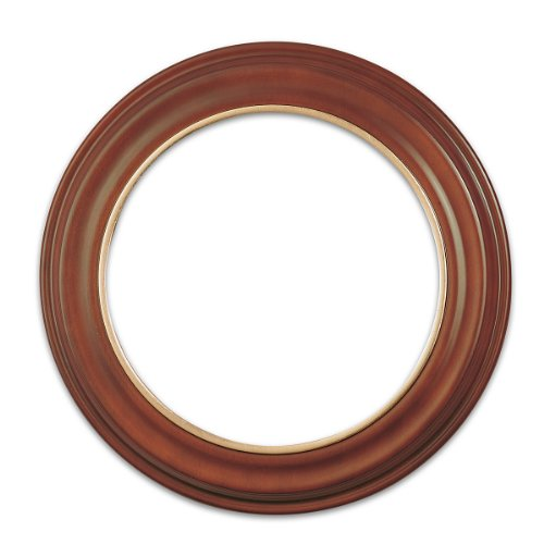 Richfield Hardwood Collector Plate Frame by The Bradford - Frames Round Wood
