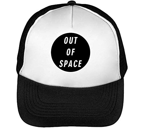 Of Snapback Beisbol Space Negro Gorras Funny Hombre Blanco Slogan Out SwvZdaqxAZ