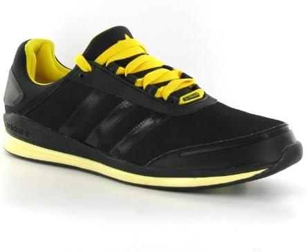 adidas Run Software Black Yellow Mens