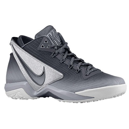NIKE Mens Zoom Field General (654859 011) Turf Shoe Grey Silver Size: - Training Turf Zoom Nike