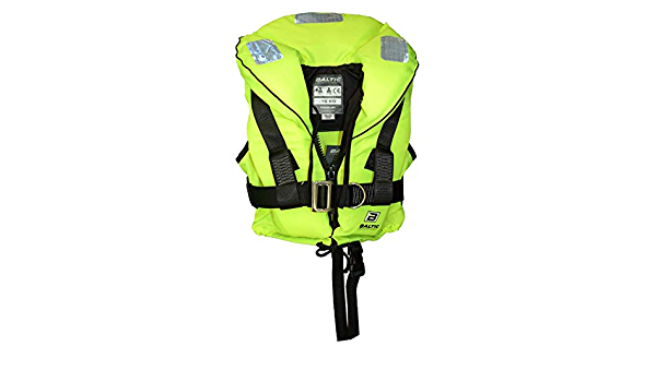 Yellow 30-40Kg Baltic Ocean Childs Lifejacket with Harness 100N