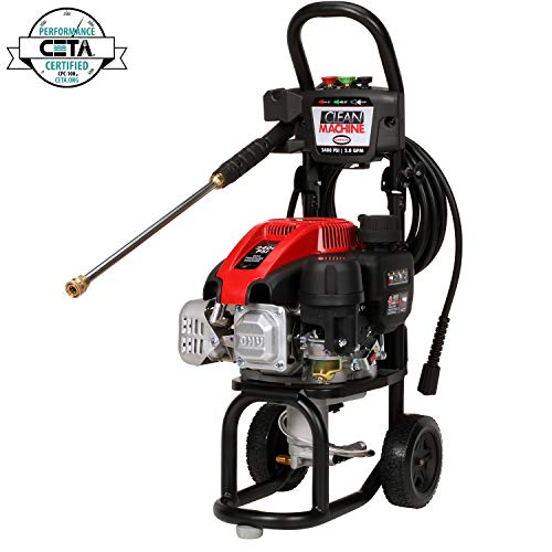SIMPSON Cleaning CM60912 Clean Machine Gas Pressure Washer Powered by Simpson, 2400 PSI at 2.0 GPM ()