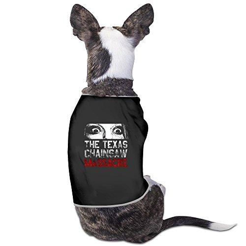 TAAT The Texas Chain Saw Massacre Logo Blood Black Dog Sweater Large
