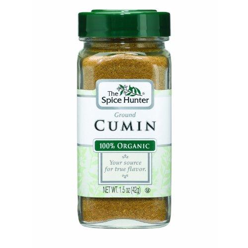 Spice Hunter Organic Ground Cumin, 1.5-Ounce (Pack of 3)