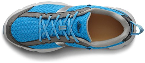 Dr. Comfort Meghan Women's Therapeutic Extra Depth Athletic Shoe: Blue 8 Wide (C-D) Lace by Dr. Comfort (Image #1)