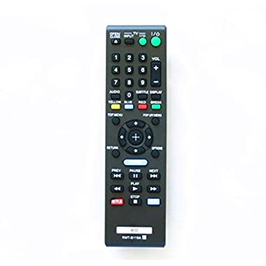 OEM RMT-B119A New Remote Fit for Sony Rmtb119a Blu-ray Player Replace Remote Control Bdp-bx59 Bdp-s390 Bdp-s590 Bdp-bx110 Bdp-s1100 Bdp-s3100 Bdp-bx310