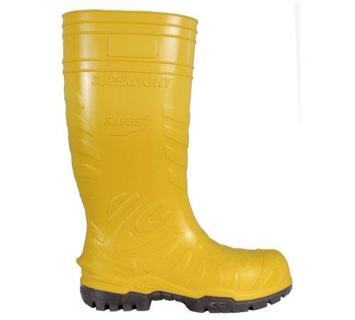 """Cofra 00060–014.w39Tamaño 39""""Tetera"""" zapatos de seguridad, color amarillo"""