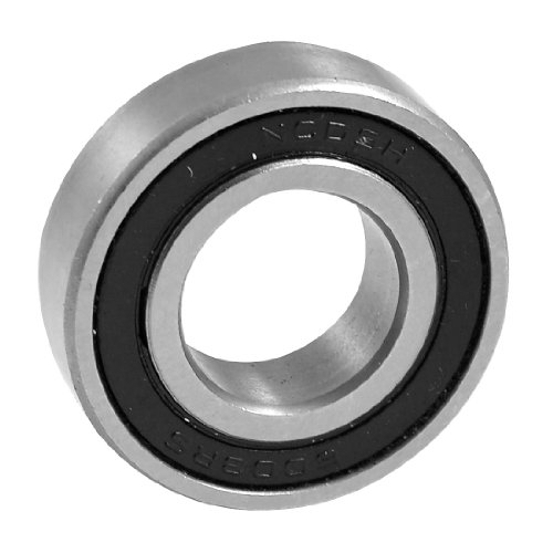 Uxcell a12060400ux0122 6003RS Shielded 17mm x 35mm x 10mm Deep Groove Ball Bearing, 0.66 (17mm Bearing)