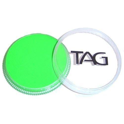 TAG Face Paints - Neon Green (32 gm) (Halloween Makeup Pop Art)