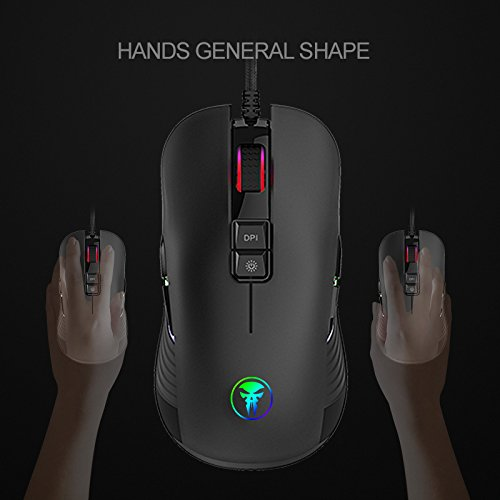 41Rip4rH3WL - IVSO-Gaming-Mouse-Portable-Mobile-Mouse-9-Buttons-Optical-Wired-Gaming-Mice-5000-DPI-Optical-Sensor-5-Adjustable-DPI-Levels-Gaming-Mouse-for-Pro-Gamer-PC-LaptopComputer-Mac