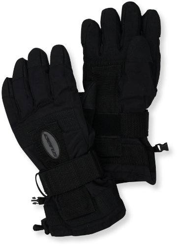 Seirus Innovation 1210 DaBone Winter Cold Weather Unisex Glove - Built in Support and Removable Wrist Protection to Prevent (Thermolite Nylon Gloves)