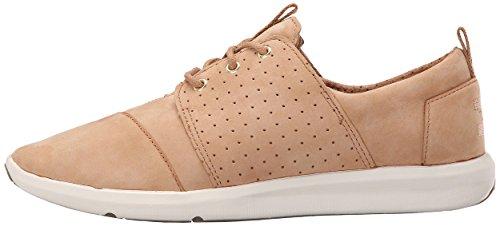 TOMS Womens Del Rey Sneaker Sandstorm Nubuck 7srRqzSb