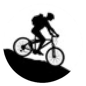 alfombrilla de ratón Ciclismo - 11 - ronda - 20cm