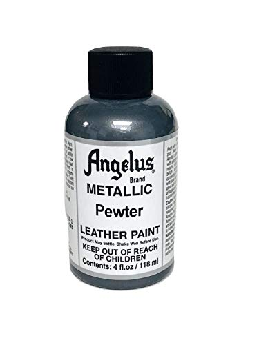 Angelus Acrylic Leather Paint-4oz.-Pewter