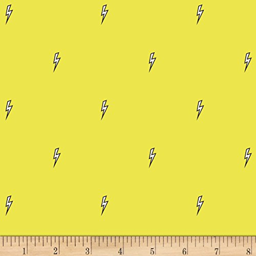 Michael Miller 0565624 Believe Bolt Citron Fabric by The Yard ()