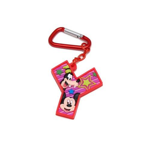 Mickey Mouse and Friends Letra Y Laser Cut Llavero: Amazon ...