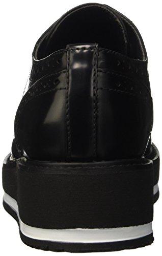 Primadonna 089336906ap, Zapatos Planos con Cordones para Mujer Negro (Nero)