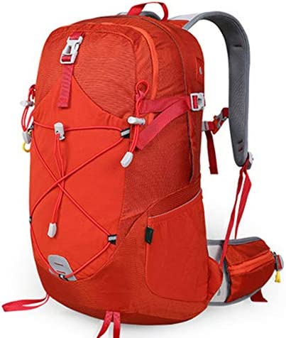 28Lアウトドアスポーツハイキングバックパック、 ナイロン布、 ロッククライミング/旅行、 男性と女性,Orange