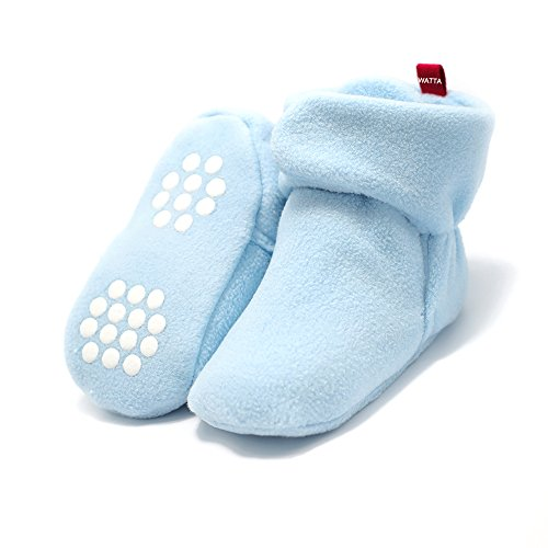 Baby Blue Pram Shoes - 3