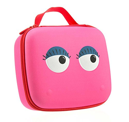 ZIPIT Beast Box Big Pencil Case/Storage Case, Pink