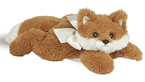 (Bearington Baby Fritz Plush Stuffed Animal Red Fox with Rattle, 8 inches)