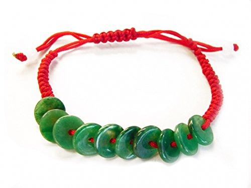 Feng Shui Import Jade Jasper Bracelet ()