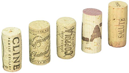 Wine Enthusiast Set of 50 Recycled Premium Corks