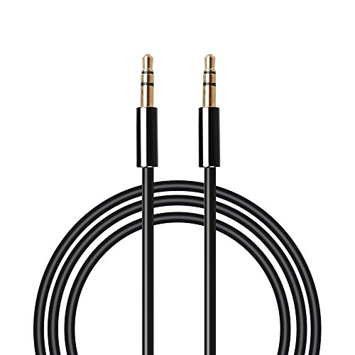 Aux Cable-MAONO AU601 1pack 6.6ft 2meters Male to Male 3.5mm Jack Audio Auxiliary Cord for Car, iPhone, Android, Smartphone, PC, Laptop, Speaker, MP3 Player, SL