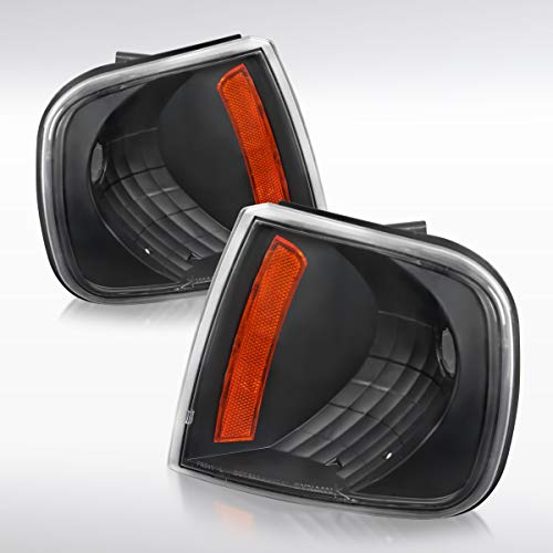 - Autozensation For Ford F150 Expdition Black Clear Corner Turn Signal Lights