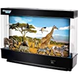 Safari Animated Lamp With Light & Motion 360 Degree View Inspiring Kids To Explore The awesome World Around Them