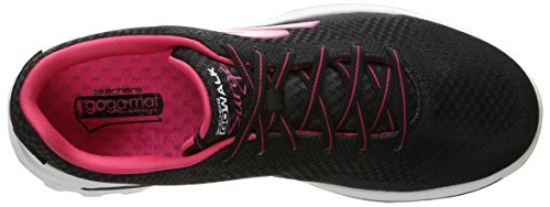 Pink pour Hot Walk Surge�2 gris Skechers Baskets dame Go en Black pwqvpzI
