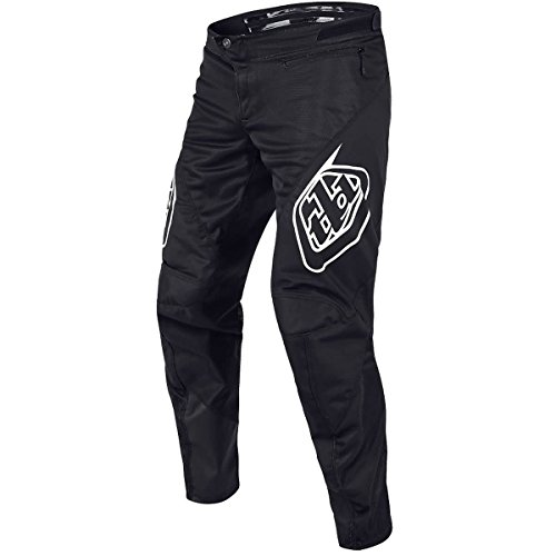 Troy Lee Designs Sprint Solid Youth Off-Road BMX Cycling Pants - Black / 24 (Parts Bmx Racing)
