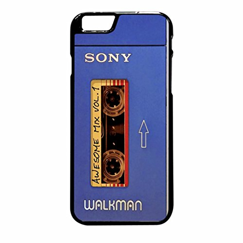 Guardian Of The Galaxy Walkman Awesome Mix Tape iPhone 6 Plus/6s Plus Case (Black Plastic)