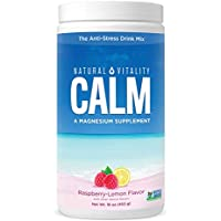Natural Vitality Calm Magnesium Supplement Powder 16 ounce