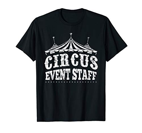 Circus Event Staff Shirt | Carnival Children Birthday Party