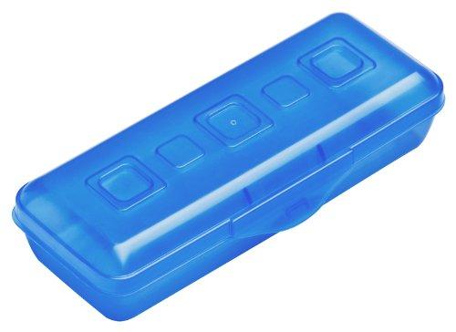 Sterilite 17214818 Mini Pencil Box, Splash Tint, 18-Pack by STERILITE