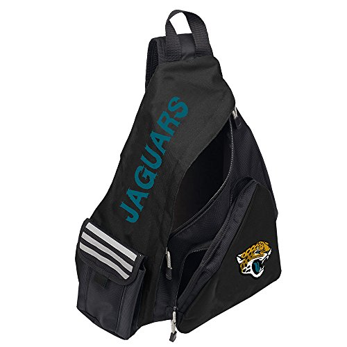 Officially Licensed NFL Jacksonville Jaguars Leadoff Slingbag