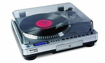 Amazon.com: Numark lp2cd vinilo a PC/Cd Turntable: Musical ...