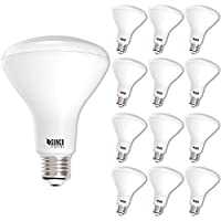 Sunco Lighting 12 Pack BR30 LED Bulb 11W=65W, 3000K Warm White, 850 LM, E26 Base, Dimmable, Indoor Flood Light for Cans - UL & Energy Star