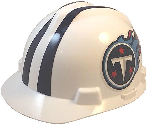 (MSA NFL Ratchet Suspension Hardhats - Tennessee Titans Hard Hats)