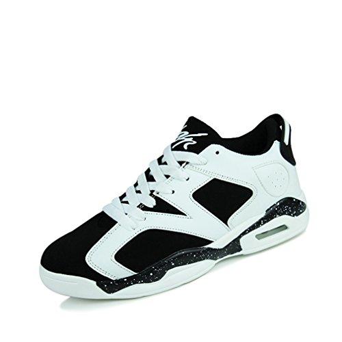 Unisex negro botas de LFEU blanco y bajo caño adulto AqHaB
