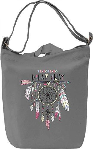 Dreamcatcher Borsa Giornaliera Canvas Canvas Day Bag| 100% Premium Cotton Canvas| DTG Printing|